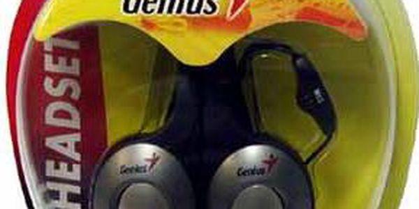 Sluchátka Genius headset HS-400A s mikrofonem2