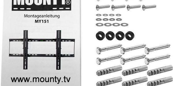 MOUNTY 1213 Nástěnný držák na ploché TV - sklopný5
