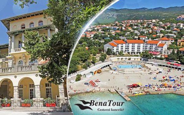 Chorvatsko - Novi Vinodolski! 8 dní pro 1 osobu s polopenzí a možností dopravy. Dítě do 6 let zdarma! Termíny červen-září