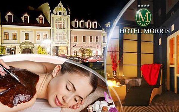 Hotel Morris**** Česká Lípa na 3 dny pro 2 osoby s plnou penzí a wellness: sauna, vířivka, solárium a další!