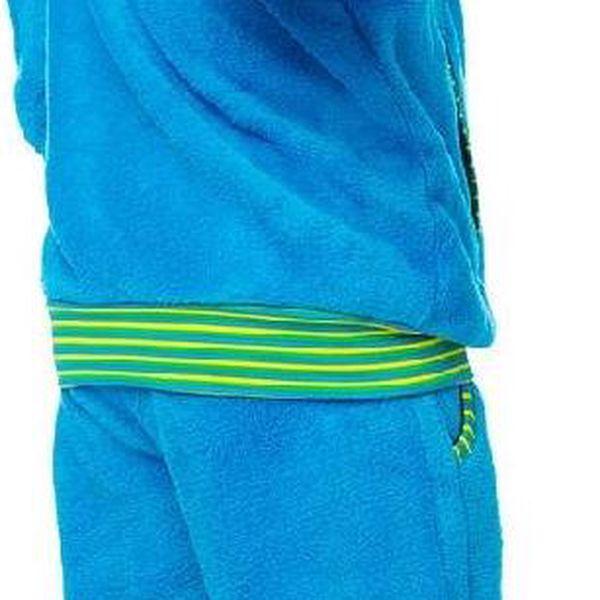 O'Style Dětská fleecová mikina se stojáčkem - modrá, 104 cm2