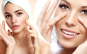 60min. ošetření aknózní a problematické pleti nebo liftingová kolagenová kúra s použitím přírodní kosmetiky v Hradci.