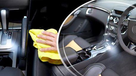 Mokré čištění interiéru vozu včetně tepování! Špičkový a profesionální úklid - Praha 10!
