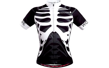 Pánské cyklistické triko s hrudními kostmi - velikost 6
