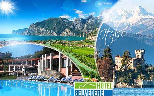 Itálie, Lago di Garda na 4 nebo 5 dní pro 2 osoby s polopenzí a bazénem ve 3* hotelu! Platnost 1 ROK!