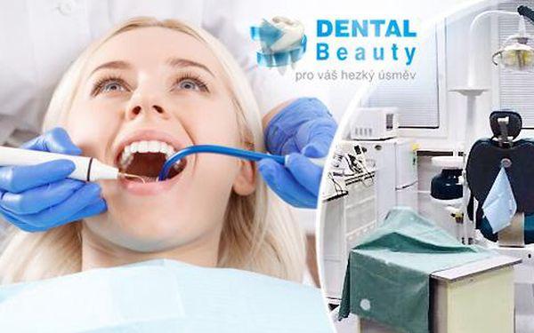 Dentální hygiena s možností air flow v délce 30 minut v ordinaci na Praze 4, u stanice metra C Budějovická!