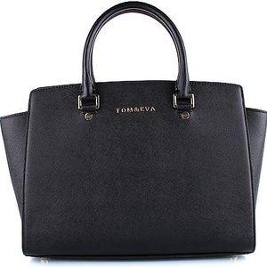TOM&EVA Černá business kabelka 6135B UNI