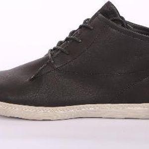 Dámské vycházkové kotníkové boty tmavé