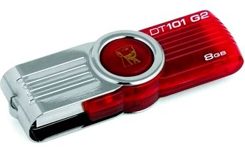 Kingston DataTraveler 101 8GB (DT101G2/8GB) červený