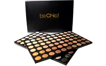 Be Chic! Professional Set Warm, paleta 60 očních stínů