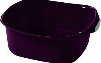 Umyvadlo SQUARE 10l - fialová CURVER