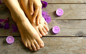 Medicinální pedikúra či reflexní masáž chodidel