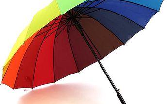 Barevný deštník DEST.CO UNI