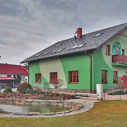Třídenní pobyt s polopenzí i vířivkou na Moravě