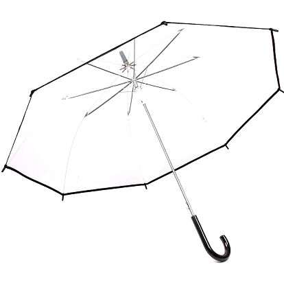 Průhledný deštník DEST.WH UNI