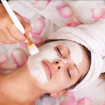 Kosmetický balíček pro regeneraci pleti v délce 60 min. s masáží obličeje, krku, dekoltu, maskou aj.