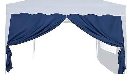 Tuin 6356 Boční stěna k zahradnímu stanu 3x3 - bez oken - modrá