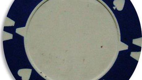 Kusový žeton design Flop modrý - 1 ks
