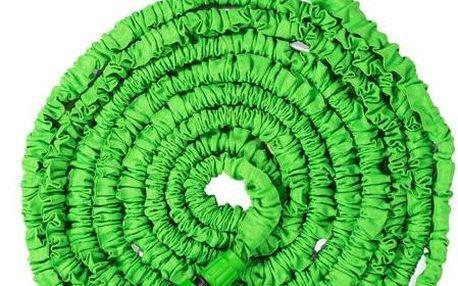 Zahradní smršťovací hadice 15m Magic Hose zelená
