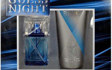 Guess Night EDT dárková sada M - Edt 50ml + 200ml sprchový gel