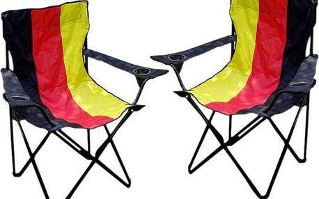 Kempinkový set 2 židlí
