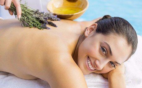 Relaxační masáž voňavým olejíčkem