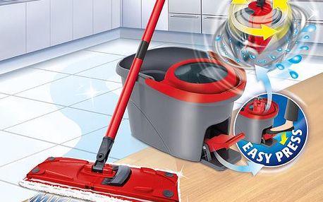 Mop sada Vileda Easy Wring UltraMat + Čistící prostředek Ajax na podlahy