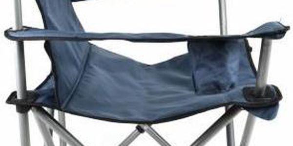 Divero 35104 Skládací kempingová židle XL - modrá3