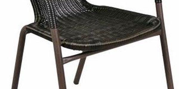 Garthen 35216 Zahradní balkonový set skládací bistro stolek + dvě židle5