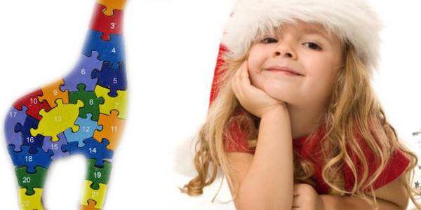 Dětská skládačka - žirafa