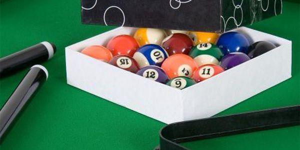 Tuin 1349 Kulečníkový stůl pool billiard kulečník 8 ft - s vybavením3