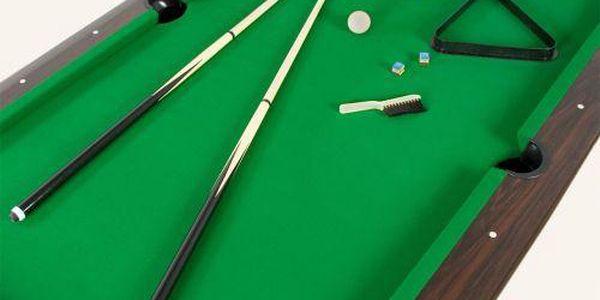 Tuin 1349 Kulečníkový stůl pool billiard kulečník 8 ft - s vybavením4