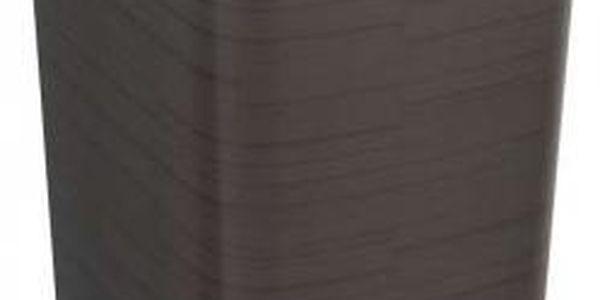 Odpadkový koš FLIPBIN 25l bez víka- vínová CURVER
