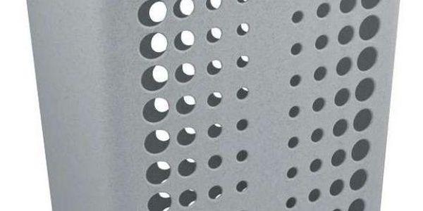 Koš na prádlo VICTORIA 60 l stříbrná CURVER