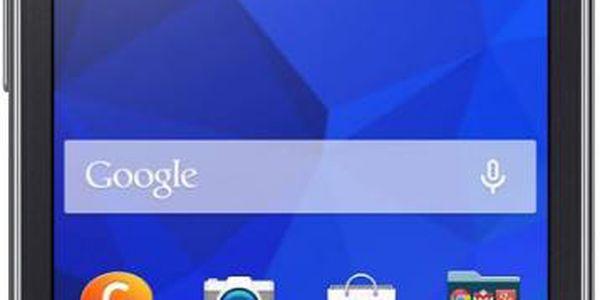 Mobilní telefon Samsung G318 Galaxy Trend 2 Lite Black + Pouzdro na mobil Ferrari Scuderia V3 červené