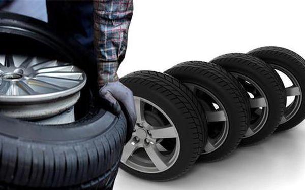 Přezutí či výměna pneu včetně vyvážení