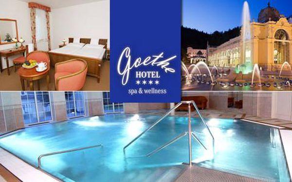 Wellness procedury, neomezený bazén a polopenze v Hotelu Goethe****
