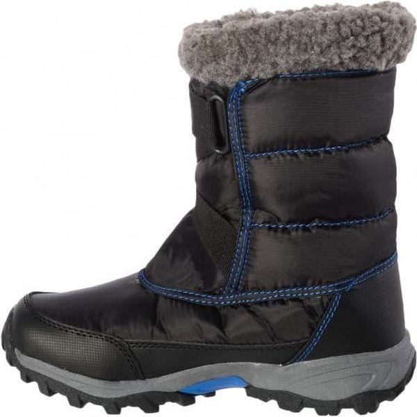Zimní sněhule Regatta RKF389 SNOWCADET II Black/OxBlue 35