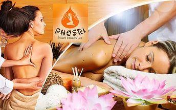 Klasická či olejová thajská masáž nebo masáž Bali! 60 minut relaxace v thajském studiu na Vinohradech!