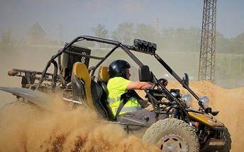 Zažijte adrenalinovou jízdu 30 min. v Buggy nebo těžkotonážním speciálu Tatra 813 8X8.