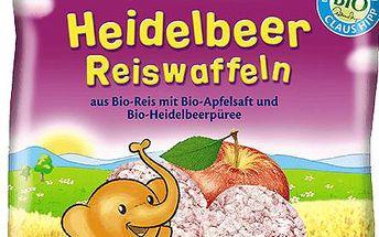 HIPP BIO borůvkové rýžové oplatky pro děti 35g