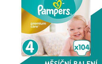 Pampers Plenky PremiumCare 4 Maxi - 104 ks