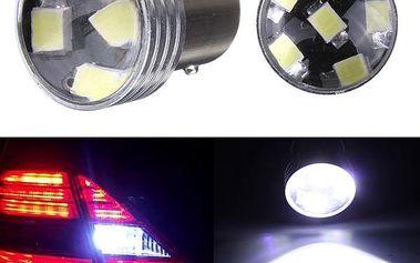 Bílé zadní světlo auta - skladovka - poštovné zdarma