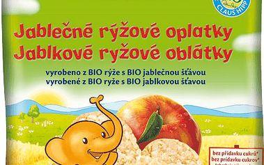 HIPP SUŠENKY BIO Jablečné rýžové oplatky 35 g