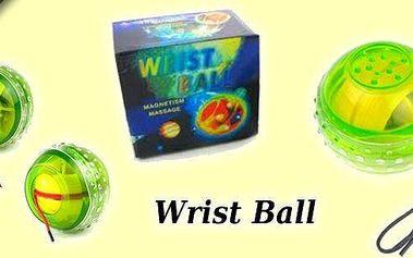 Wrist Ball - originální posilovač zápěstí.Pravidelné cvičení s Wrist Ballem odstraňuje únavu, podporuje krevní oběh a samozřejmě posiluje ruce. Navíc si užijete příjemnou masáž.