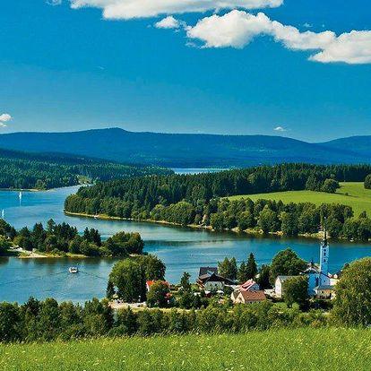 3denní odpočinek u Lipenské přehrady