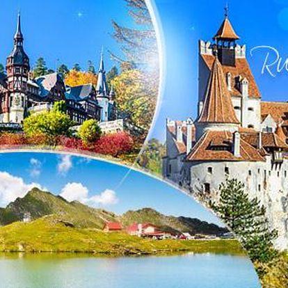 Rumunsko: Drákulův hrad a další! Poznávací zájezd vč. 3 nocí v 3* hotelu s polopenzí, dopravy a průvodce, 13-18/5