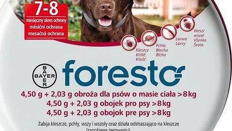Bayer Foresto antiparazitní 70 cm pro psy + DÁREK