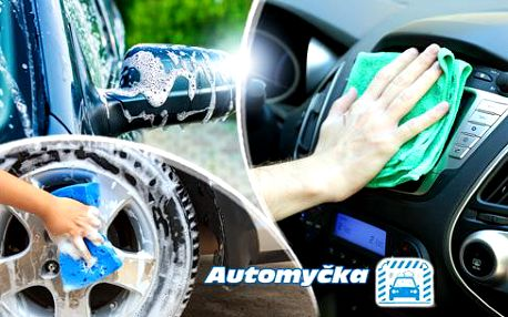 Profesionální čištění exteriéru a interiéru vozu s možností tepování či aplikace vosku na ochranu laku až na 8 měsíců!