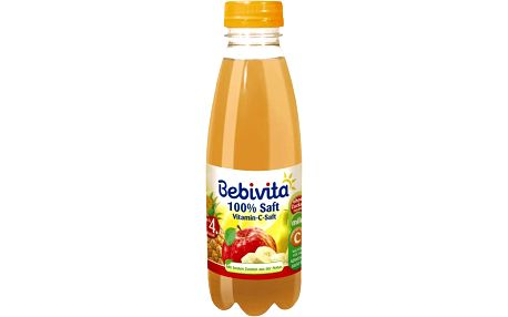 Expirace 10.6.2016: BEBIVITA vitamín C šťáva (500ml)